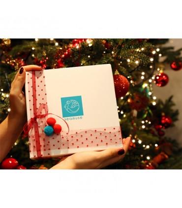 рождественский подарочный набор 5 мыло