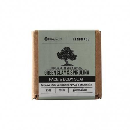 Мыло для лица и тела - Olive Secret