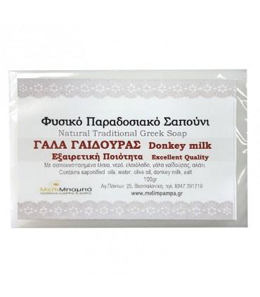 """Melimpampa Натуральное мыло """"Ослиное молоко"""""""