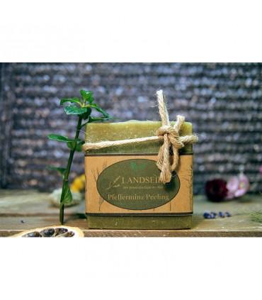 Landseife - Мятное мыло для очистки от мяты