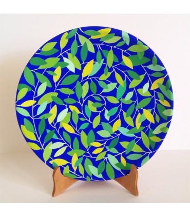 Мандалярная тарелка ручной работы