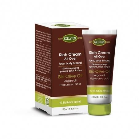 Женский крем для лица, тела и рук - Kalliston - 100 ml