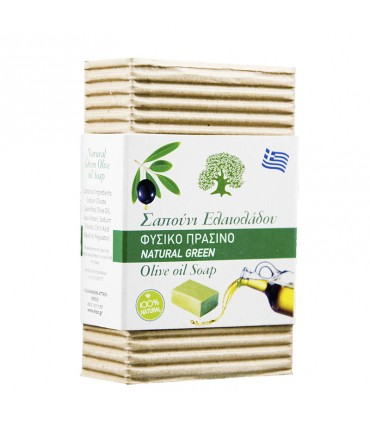 Elaa OLIVE OIL SOAP NATURAL GREEN, 85г
