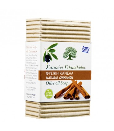 Elaa OLIVE OIL SOAP WITH CINNAMON SCENT, 85г