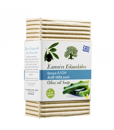 Elaa OLIVE OIL SOAP WITH ALOE flavour, 85г