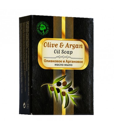 Elaa OLIVE OIL SOAP WITH ARGAN, 100г