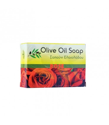 Elaa OLIVE OIL SOAP WITH ROSE SCENT, 100г