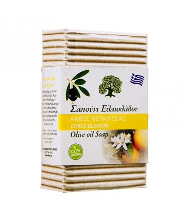 Elaa OLIVE OIL SOAP WITH CITRUS FLOWER SCENT, 85г