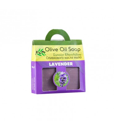 Elaa OLIVE OIL SOAP WITH LAVENDER Bag, 100г