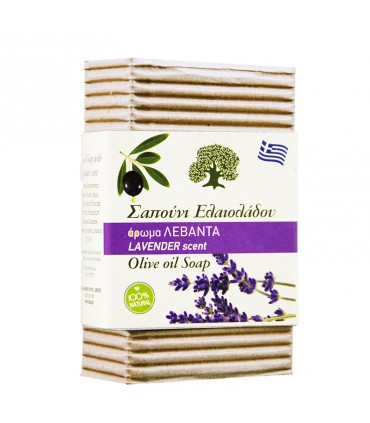 Elaa OLIVE OIL SOAP WITH LAVENDER, 85г