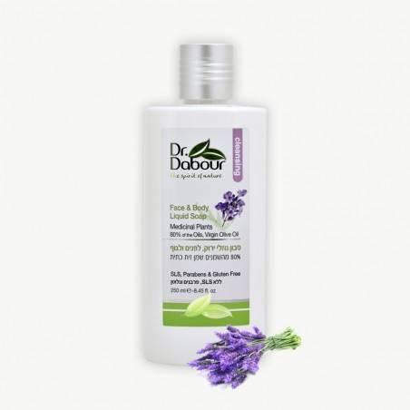 Жидкое мыло для лица и тела - Dr. Dabour - 250мл