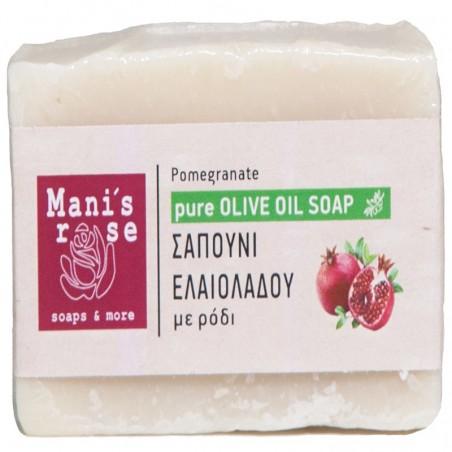 Мыло с оливковым маслом и гранатом - 100 г - Manis Rose