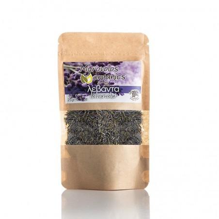 Myrovolos - сухая лаванда - 25 gr