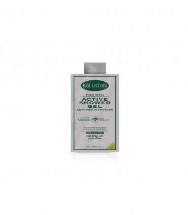 Активный гель для мужчин для душа с маслом чайного дерева - 250 мл - Kalliston