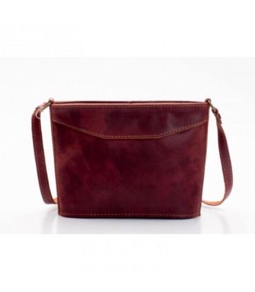 Aspriter Женская кожаная сумка красный
