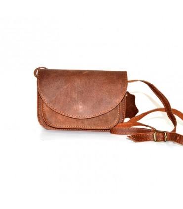 Aspriter Женская кожаная сумка тампа коричневый