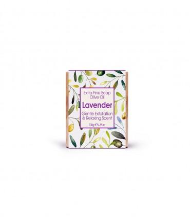 мыло с оливковым маслом лавандой