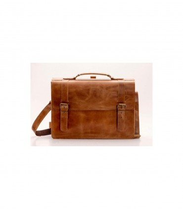 Документовая кожаная сумка