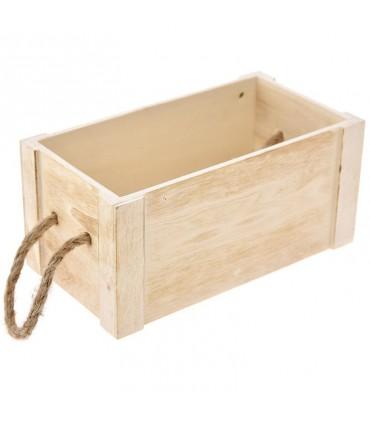 Красивый деревянный ящик природы