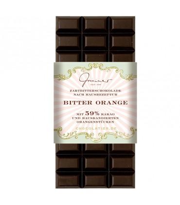 Шоколад горький апельсин