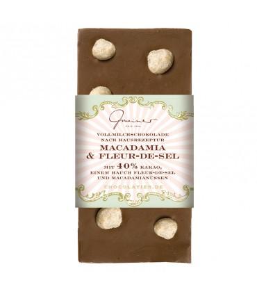 Шоколадная макадамия и флер-де-сель