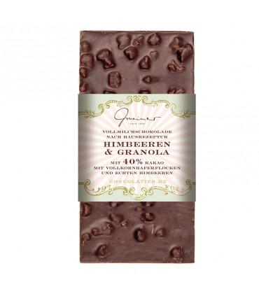 Шоколадная малина и мюсли