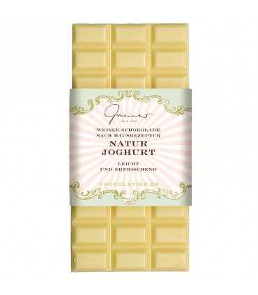 Шоколад натуральный йогурт
