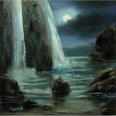 """Холст """"Nightscape"""" - Angeliki"""