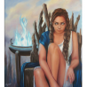 """Холст """"Pythia the oracle"""" - Angeliki"""