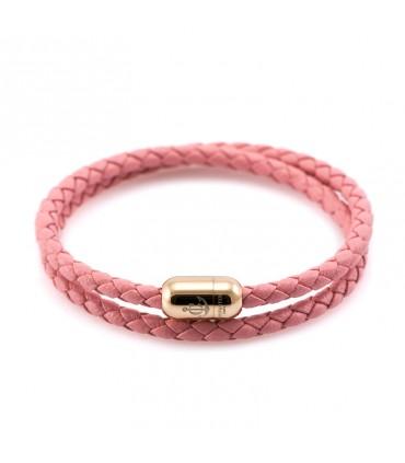 Браслет Constantin Maritime из кожи, розовый