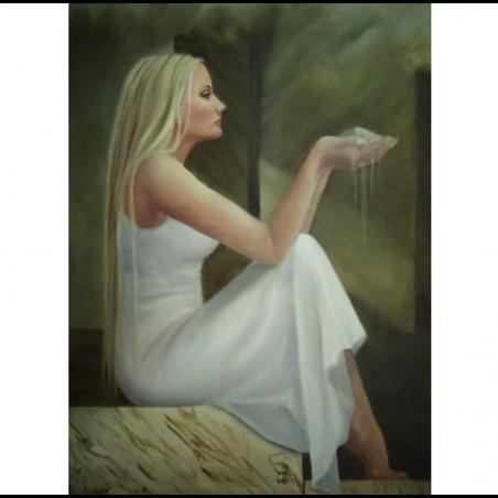 "Холст ""Sands of time"" - Angeliki"