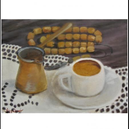 """Холст """"Greek flavor"""" - Angeliki"""
