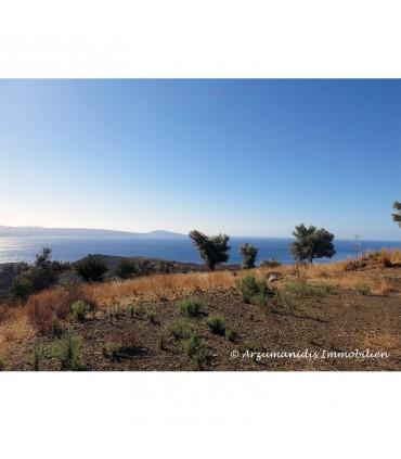Участок с видом на море на Крите