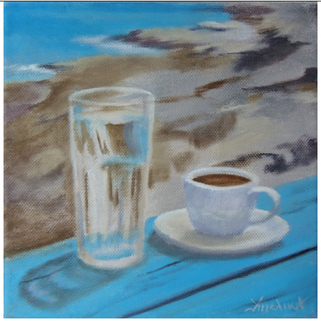 "Холст ""Greek morning!"" - Angeliki"