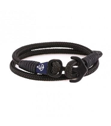 Constantin Морской браслет из парусной веревки, черного цвета.
