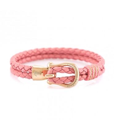 Constantin Морской кожаный браслет, розовый