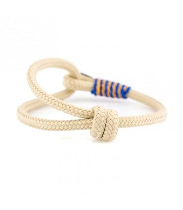 Constantin Морской браслет из парусной веревки, бежевого цвета