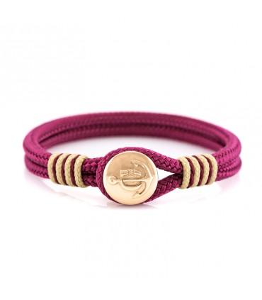 Constantin Морской браслет из парусной веревки, красного цвета