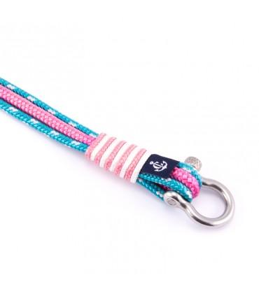 Constantin Морской браслет из парусной веревки, розовый/розовый/ светло-синий