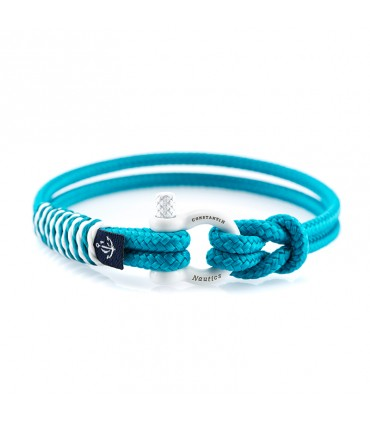 Constantin Морской браслет из парусной веревки, светло-голубого цвета