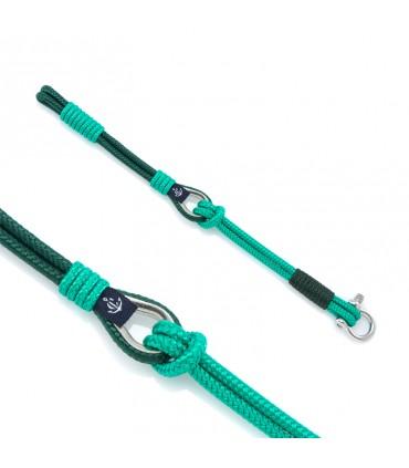 Constantin Морской браслет из парусной веревки, зеленый
