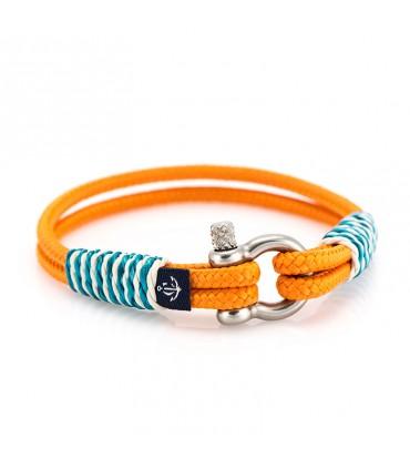 Constantin Морской браслет из парусной веревки, оранжевый