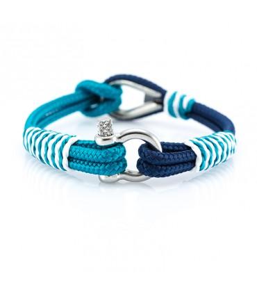 Constantin Морской браслет из парусной веревки, синего цвета