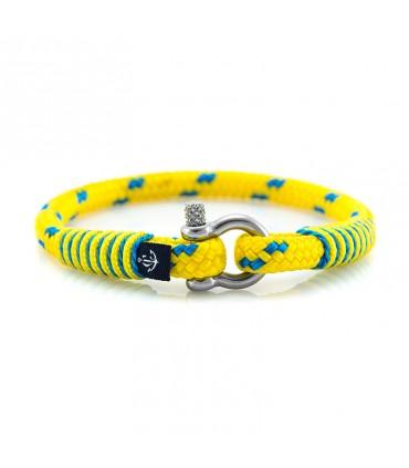 Constantin Морской браслет из парусной веревки, желтого цвета