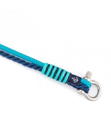 Constantin Морской браслет из парусной веревки, синий со Swarovski